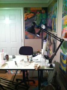 My old studio