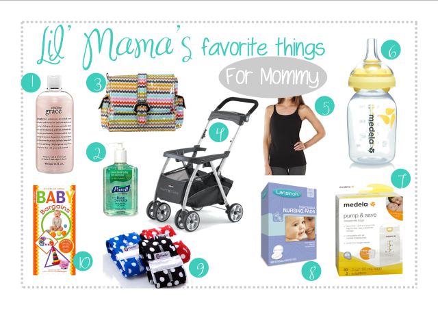 Lil' Mama Nottingham's Favorite Things: for Mommy